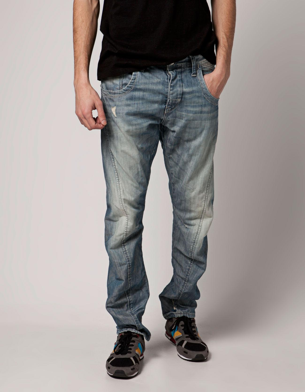 Bershka Russian Federation - Twister jeans with stitching