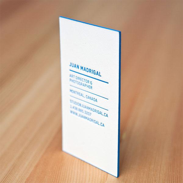 FPO: Juan Madrigal Business Card