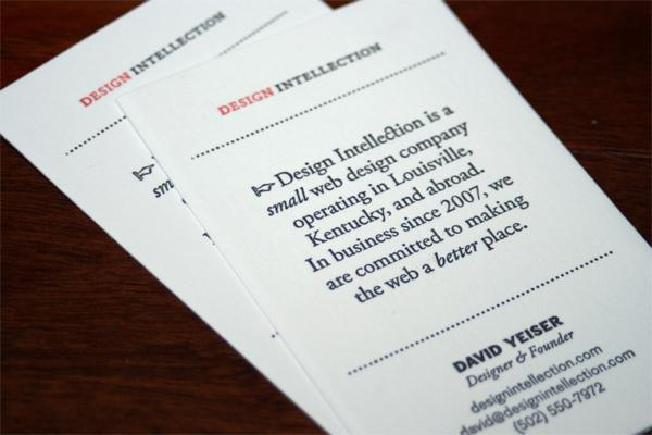 FPO: Design Intellection Business Card