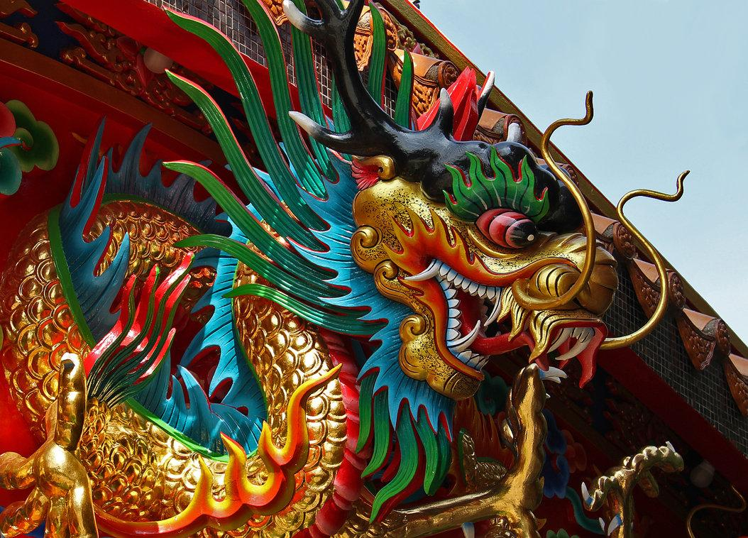 Chinese Dragon by ~David-Will