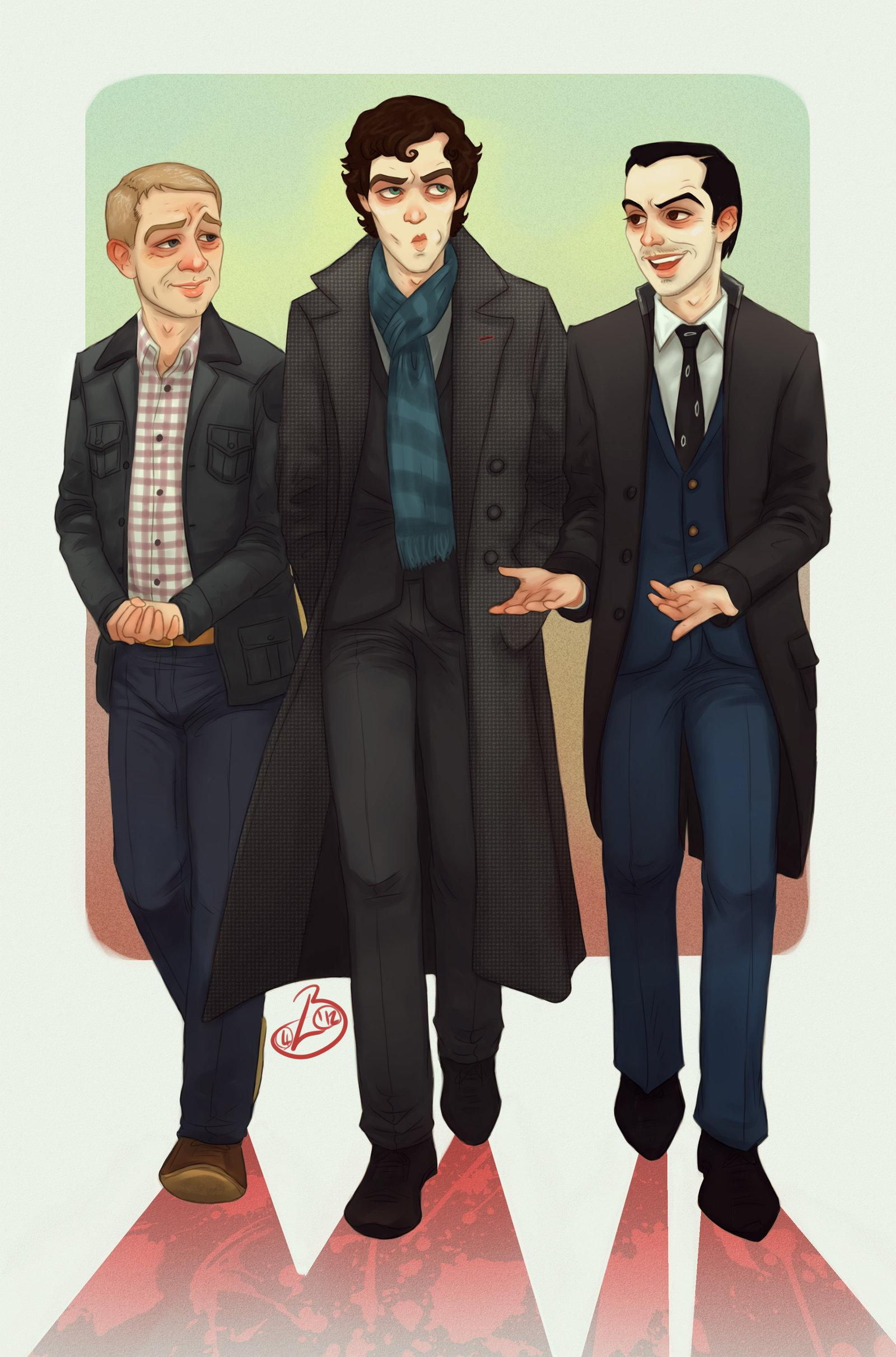 Commish: Baker Street BAMFS by =Elusive-Angel