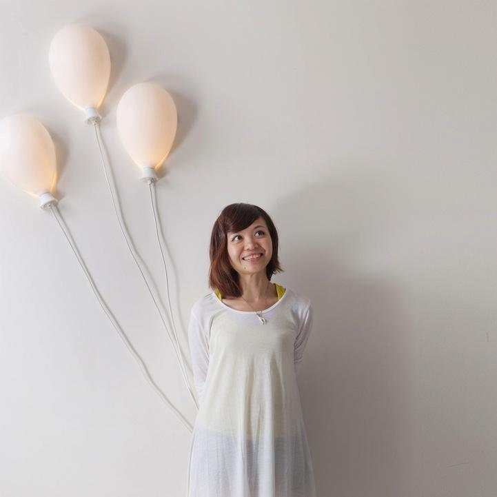 Smile-Inducing Balloon Lamp - My Modern Metropolis