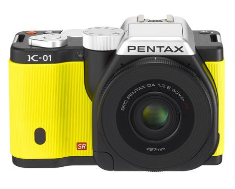 Dezeen » Blog Archive » K01 by Marc Newson for Pentax