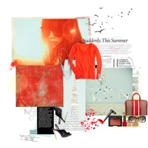 Runway to Realway: Fire-engine Red - Polyvore