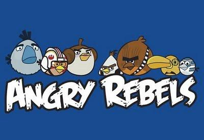 LAOROSA: Angry Rebels: Star Wars & Angry Birds Mash-Up.