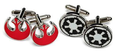 LAOROSA: Star Wars Cufflinks...