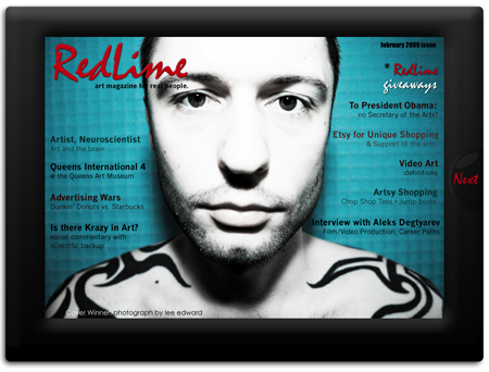 RedLime: art magazine. real people.