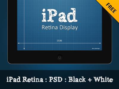 Ipad Retina PSD by Ihar Gamajunov
