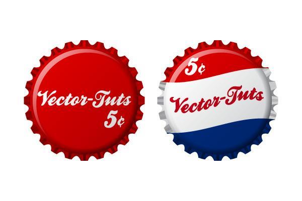 How to Create Vintage Vector Bottle Caps In Illustrator CS4 | Vectortuts+
