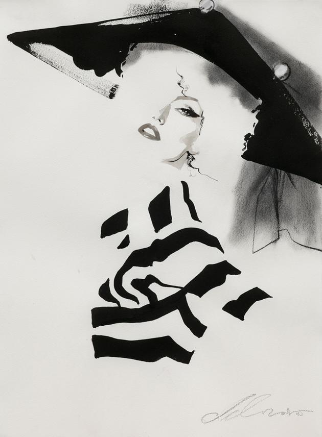 David Downton Fashion Illustration | MONOmoda