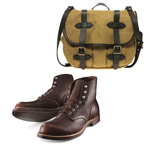 Red Wing Iron Ranger Filson Messenger Bag discount sale voucher promotion code | fashionstealer