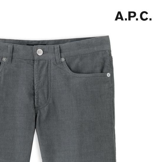 A.P.C Petit Standard Corduroy discount sale voucher promotion code | fashionstealer