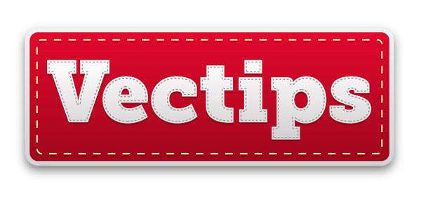 Create A Editable Stitched Label Type Treatment In Illustrator | Vectips