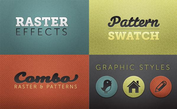 Creating Seamless Textures In Illustrator | Vectips