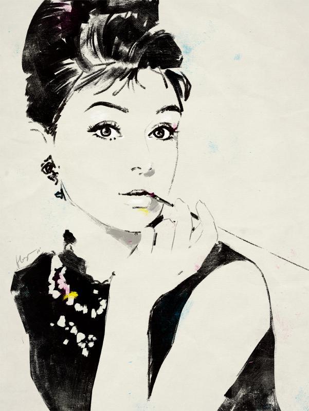 Audrey Hepburn by ~grey90