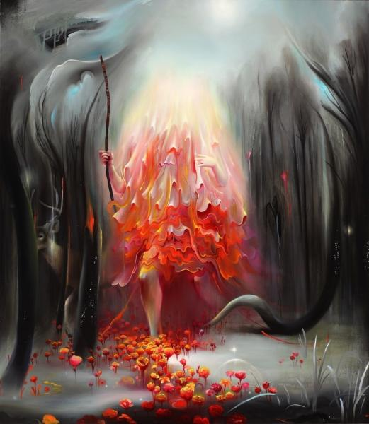 Michael Page's Infinite Swirls Of Paint « Beautiful/Decay Artist & Design