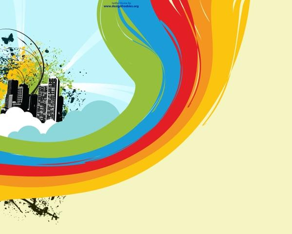 vector,city city vector twitter rainbows 1280x1024 wallpaper – Twitter Wallpaper – Free Desktop Wallpaper