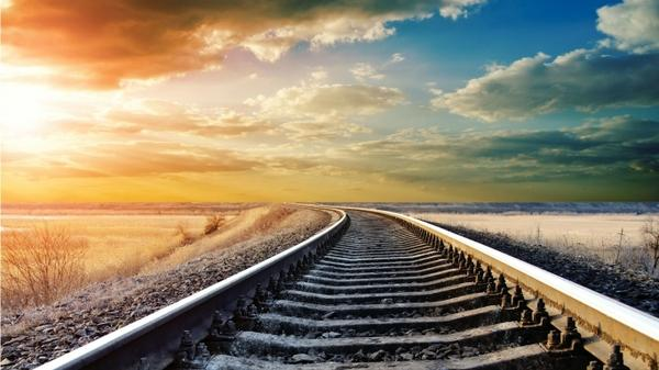 clouds,abstract abstract clouds sun railroad tracks artwork 1366x768 wallpaper – Clouds Wallpaper – Free Desktop Wallpaper
