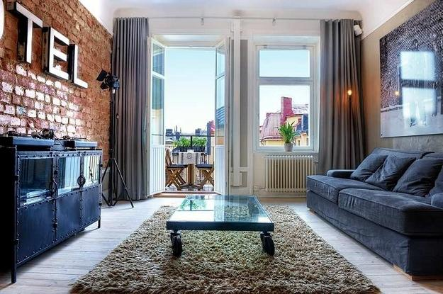 A wonderful apartment with a brick wall | Interior Design and Architecture blog magazine - Let me be inspired, Get inspired from different interior design and architecture.