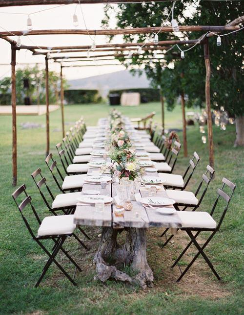 once wed magazine: tuscan wedding | Design*Sponge