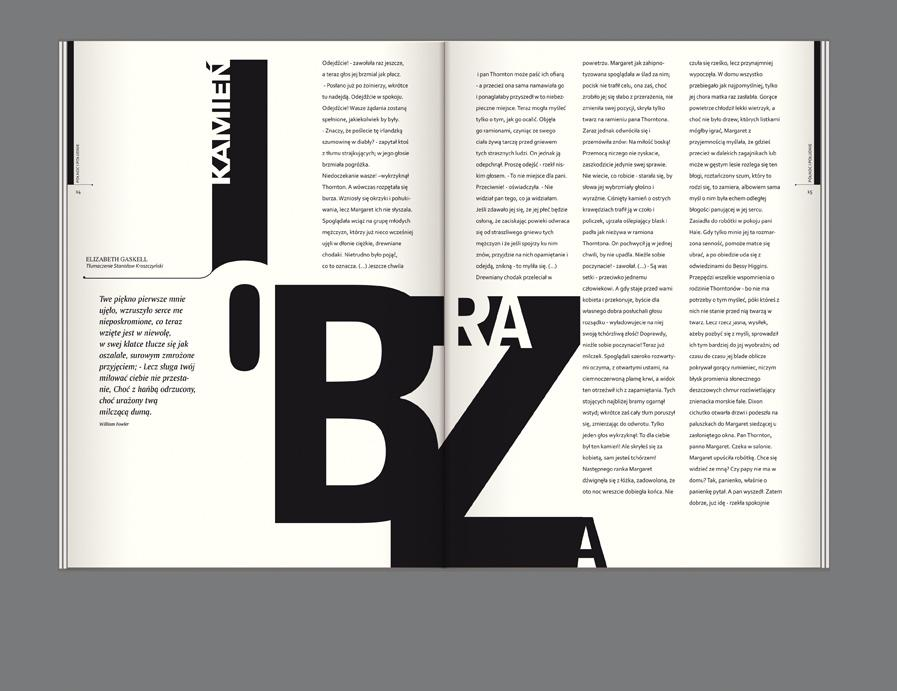 editorial design bluszcz magazine on typography served 75527 on wookmark