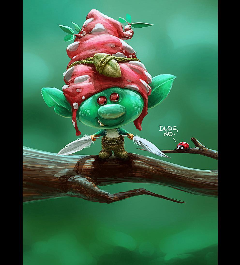 2D Art: Gnomon - 2D Digital, Concept art, Fantasy, Photoshop, Portrait