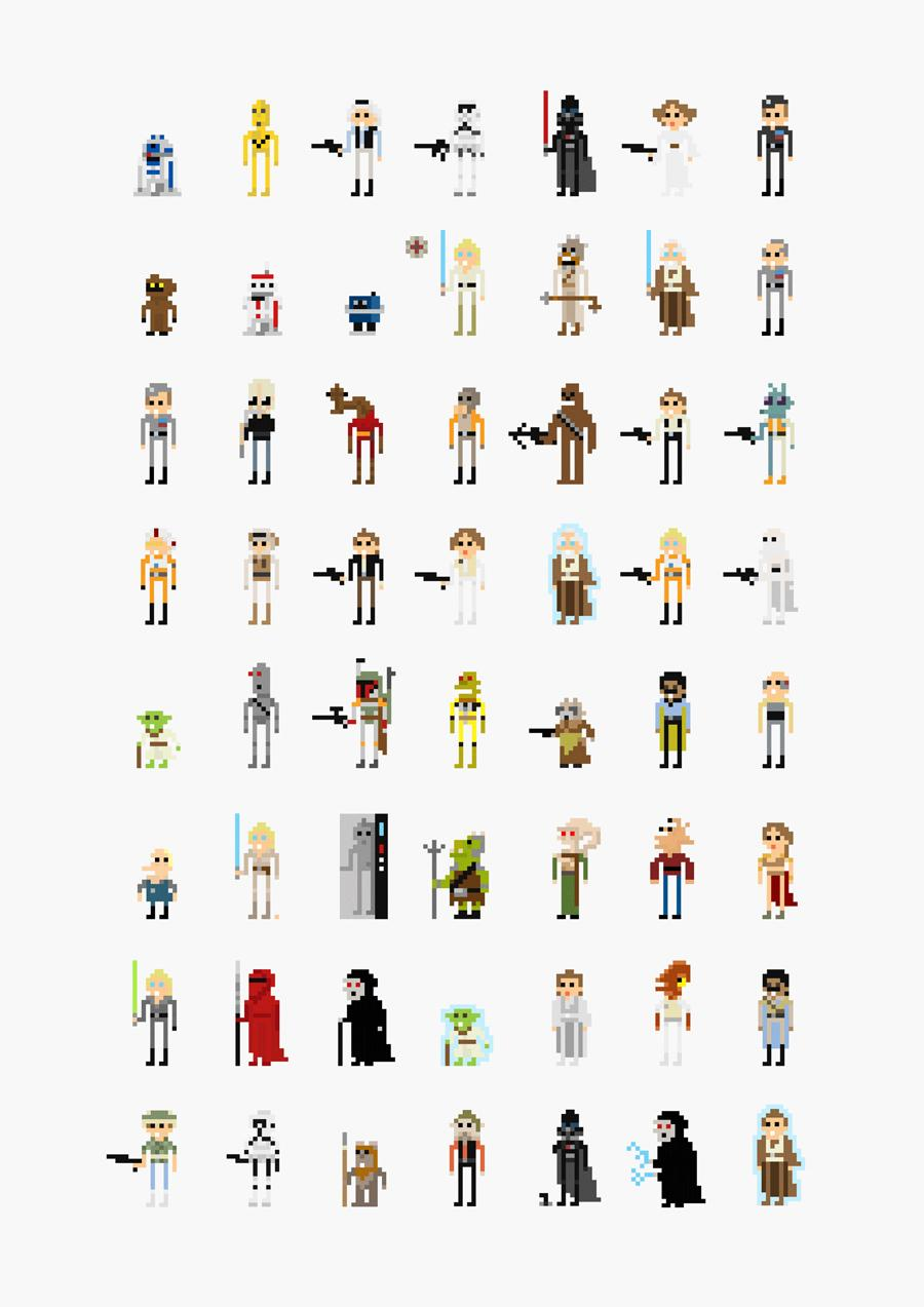 8-bit Movie Characters | thaeger - blog this way