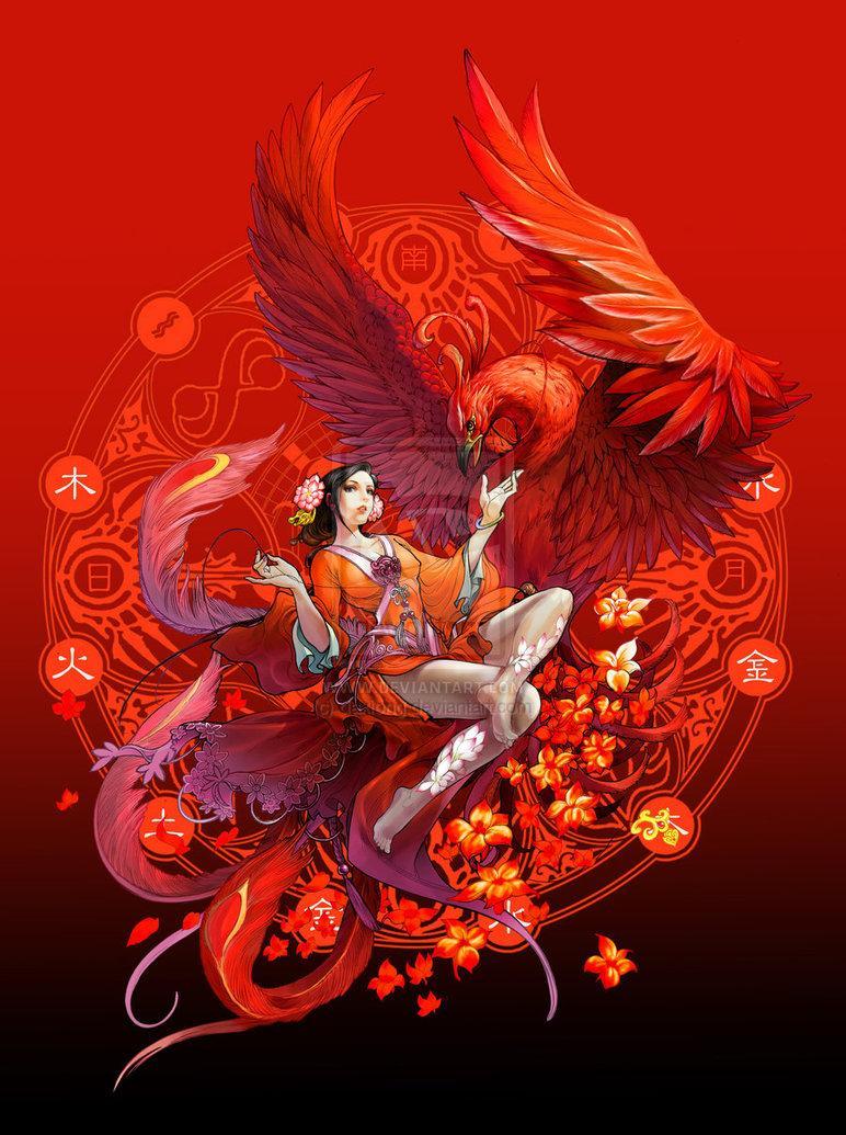 Esprit Phoenix par daxiong * sur deviantART