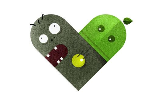 Love and Hate Versus Hearts by Dan Matutina | inspirationfeed.com