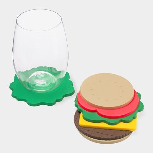 Designspiration — Burger Coasters | MoMA Store