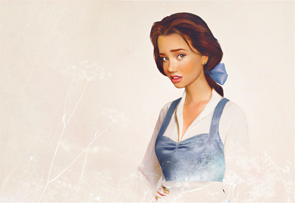 Envisioning Disney Characters in Real Life