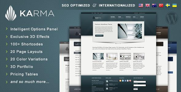 WordPress - Karma - Clean and Modern Wordpress Theme | ThemeForest
