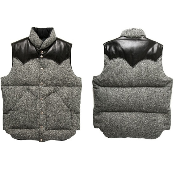 Rocky Mountain Featherbed Down Vest Olive Tweed discount sale voucher promotion code | fashionstealer