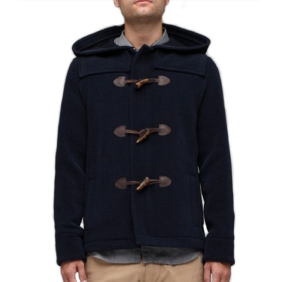 APC Duffel Coat Navy discount sale voucher promotion code | fashionstealer
