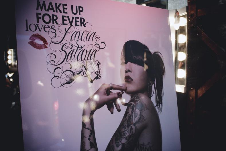 Make Up For Ever x Laura Satana : tatouage éphémère » Babillages