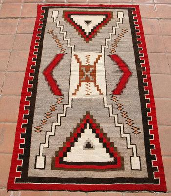 Crystal Navajo Rugs, - Navajo Crystal Storm Pattern Rug