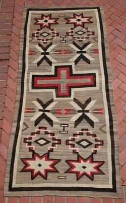 Ganado Navajo Rugs, - Navajo Ganado Rug