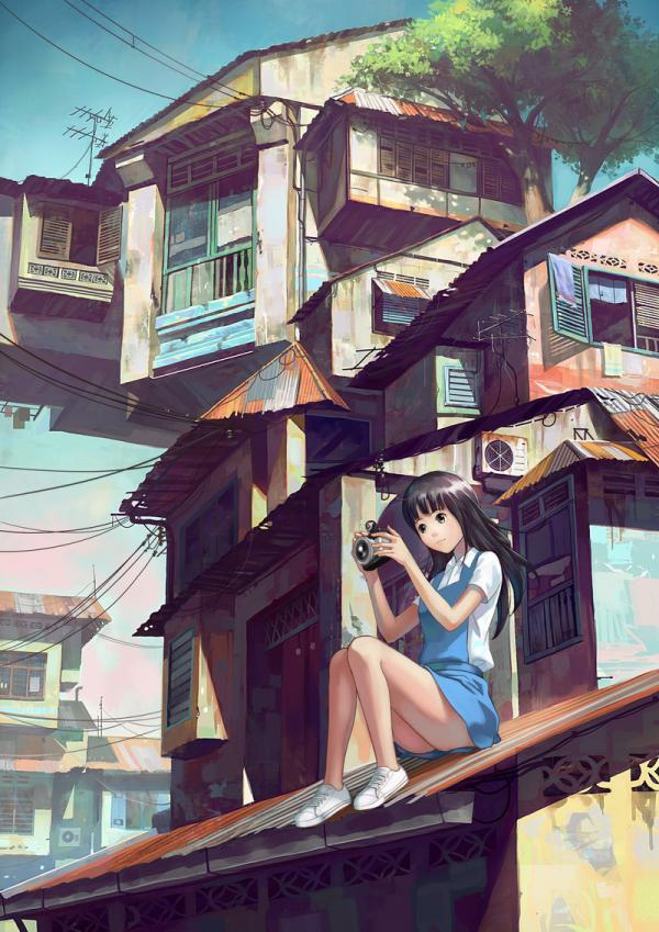 Anime Characters by Chong FeiGiap | Cuded