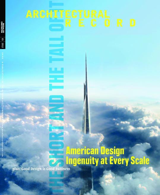 NAS CAPAS: ARCHITECTURAL RECORD