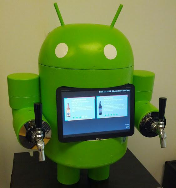 Betsy the KegDroid, An Android-Based Beer Dispenser