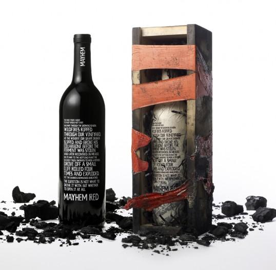 Mayhem Wine Bottle - Best Designs Award