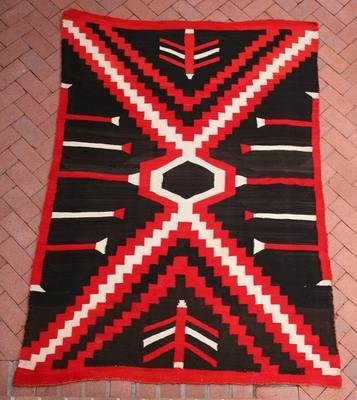Blankets Navajo, - Navajo Transitional Blanket