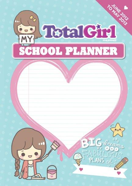 Total Girl School Planner 2012-13