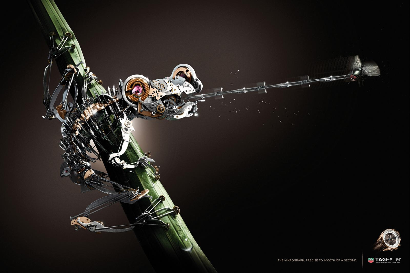 Tag Heuer: Frog | Ads of the World™