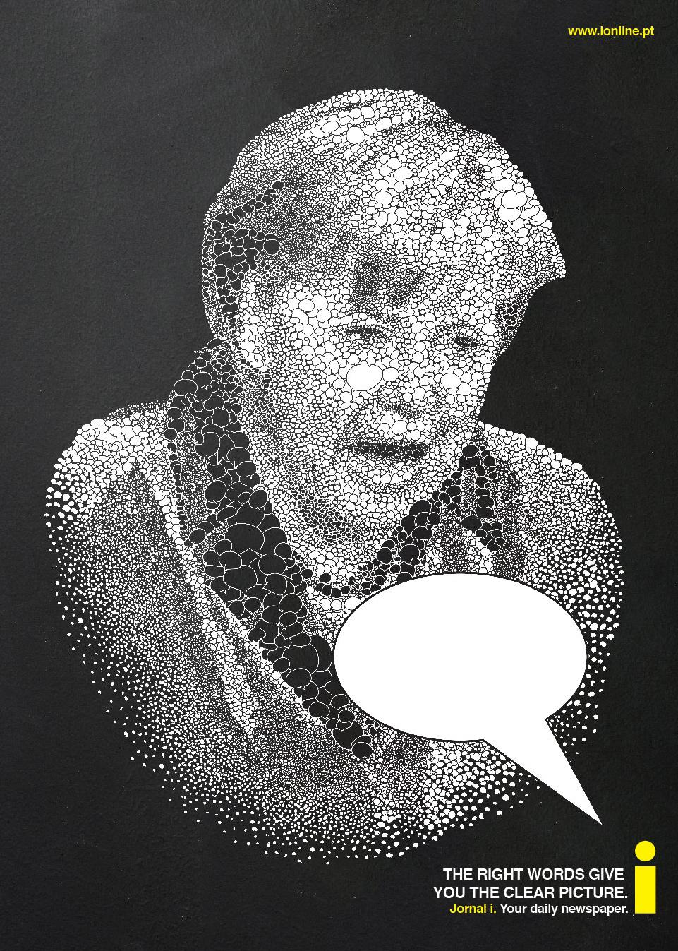 Jornal i: Merkel | Ads of the World™