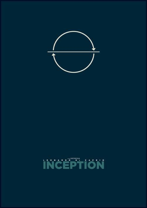 24 Mind-Bending Movie Posters of Inception | designrfix.com