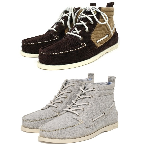 Sperry Topsider x Band Of Outsiders Chukka Boot Brown Corduroy | Sperry Topsider x Band Of Outsiders Chukka Grey Marl discount sale voucher promotion code | fashionstealer