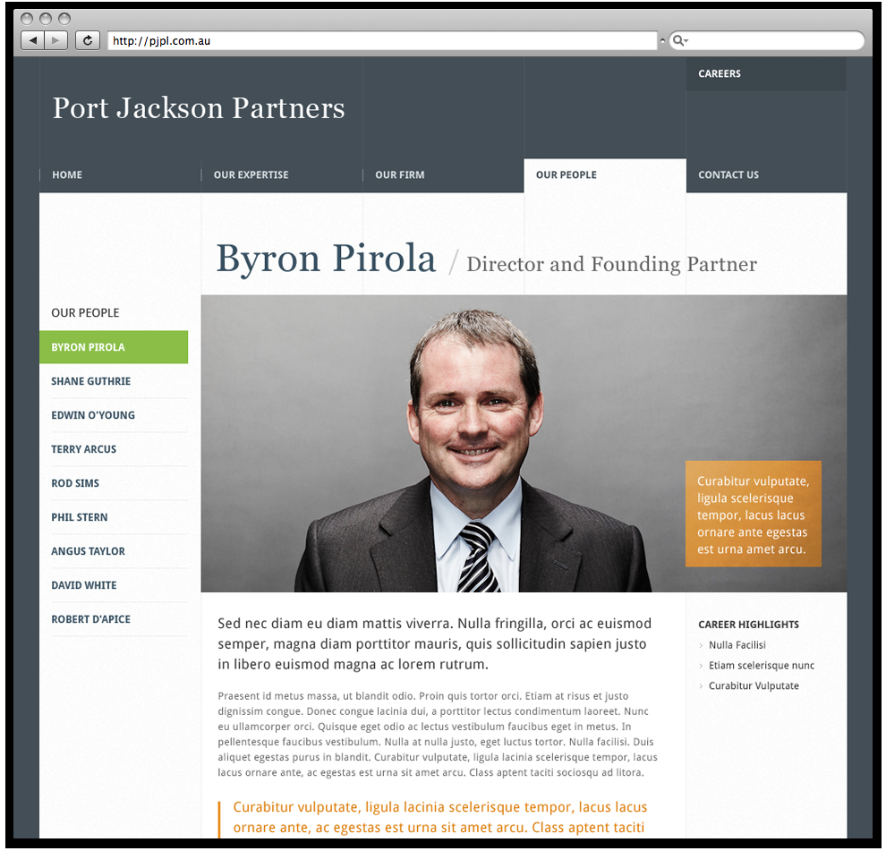 Port Jackson Partners | Ben Martineau