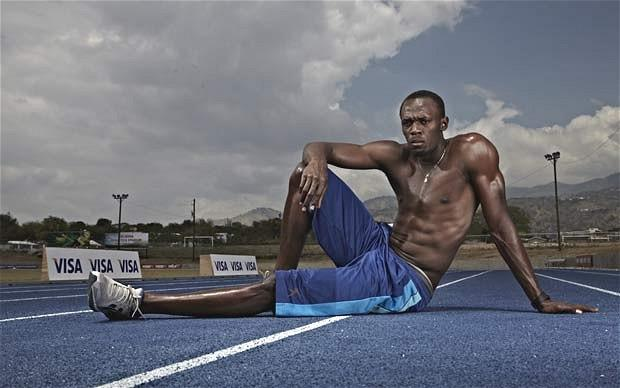 Runner's world: Usain Bolt and his entourage - Telegraph