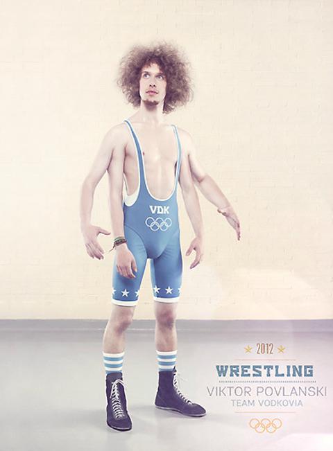 Surrealist London Olympics posters by Oli Kellett — Lost At E Minor: For creative people